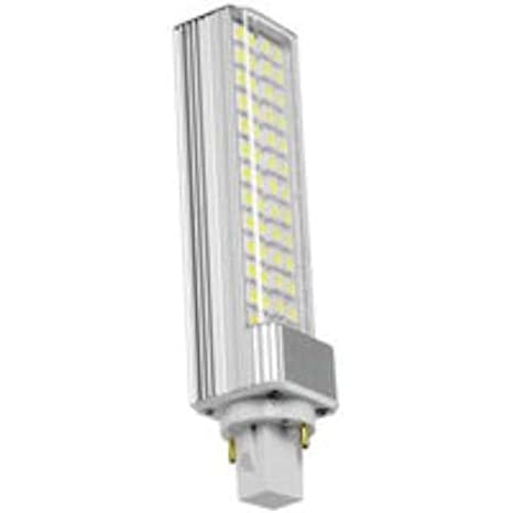 Prilux led smart - Lámpara led pl-d 11w g24 2pin 3000k: Amazon.es: Iluminación