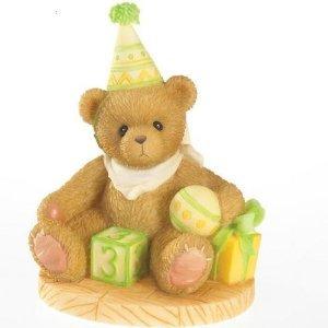 Cherished Teddies Age 3 Free to be Three Through the Years Series 4020574 - NEW!