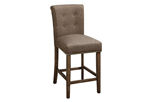 1PerfectChoice 2 PC Dining High Counter Height Side Chair Ba