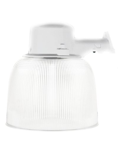 Coleman Wall Shade (Designers Edge L1767WH 65-Watt Round Yard Light with Acrylic Shade Outdoor Security Light, White)