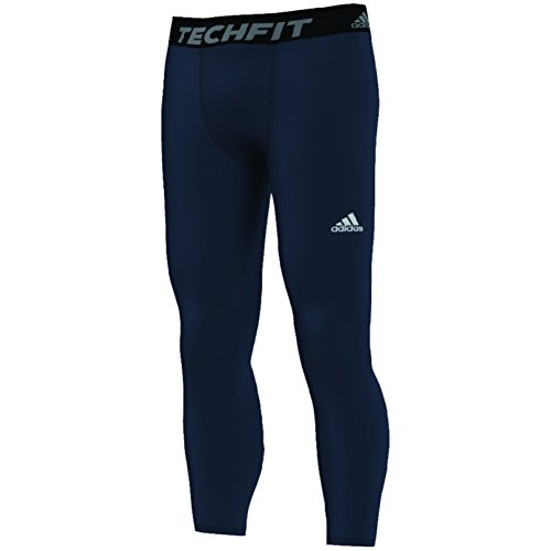 (adidas Men's Techfit Base Long Tights, Collegiate Navy, X-Large)