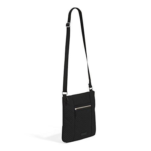 Black Microfiber Crossbody Bag Vera Bradley Classic Hipster Iconic Black q6TXAxwZ0