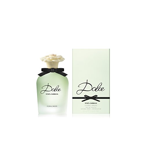 Dolce & Gabbana Floral Drops Eau de Toilette Spray, 1.6 Fluid Ounce (Floral Top Gabbana Dolce And)