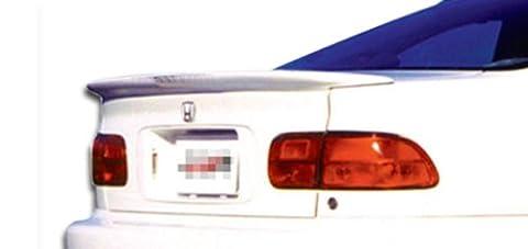 1992-1995 Honda Civic 2DR Duraflex Flush Mount Wing Trunk Lid Spoiler - 1 Piece - Civic Fiberglass Flush Mount Wing