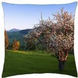 Spring Blossoms - Throw Pillow Cover Case (18