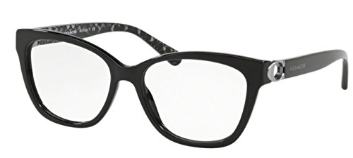 Coach Women's HC6120 Eyeglasses Black/Demo 54mm (Eyeglasses Women Coach Frames)