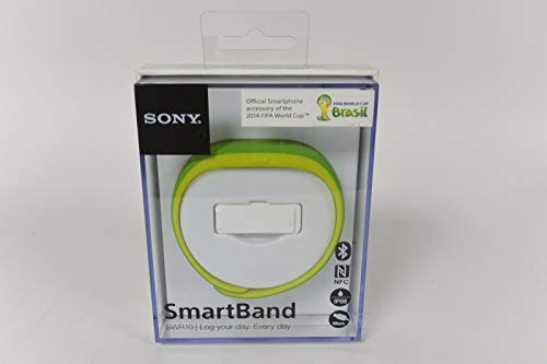 GENUINE Sony SmartBand SWR10 Lifelog Bluetooth Body Tracker NFC for Android 4.4 GREEN- (2014 FIFA World Cup Brazil (Best Sony Waterproof Activity Trackers)