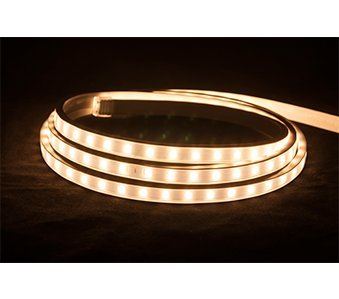 American Lighting 120-H2-WW Hybrid 2 LED Tape Rope Light Reel, 120-Volt, 150-feet, Warm White by American Lighting