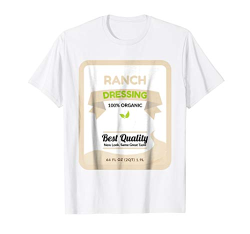 Ranch Family Sauce Costume Halloween Uniform T Shirt -