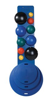 Cando MVP Balance System - Instability Balls - 10 Ball Set by Fabrication