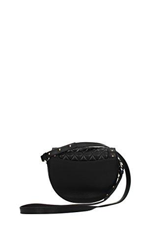 Sacs Femme MSM021902M Balmain Noir bandoulière Cuir Uv1fw