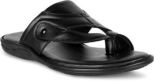 MAKAR Genuine Leather Slippers/Sandals For Men's