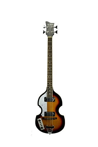 Left Handed Beatle Bass 4 String Vintage Violin Tobacco Sunburst ()