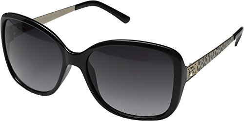 GUESS Women's Acetate Oversized Square Sunglasses, Blk-35, 58 - Guess Sunglasses Oversized