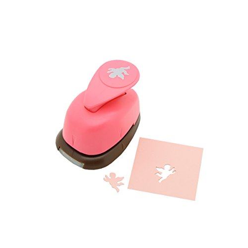 Bira 5/8 inch Boy Angel Shape Lever Action Craft Punch for Paper Crafting Scrapbooking Cards Arts