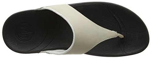 Fitflop Donna Lulu Thong Sandal Bianco Antico