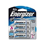 Energizer Ultimate Lithium Batteries Batteries AA 4 ea
