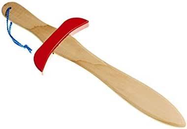 Juguetutto - Espada Pequeña - Rojo - Juguete de Madera: Amazon.es: Hogar