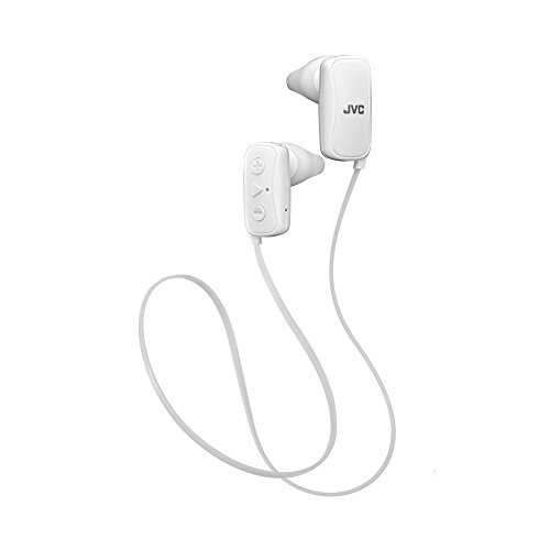 Jvc White Gumy Headphones - JVC in-Ear Silver, Bluetooth, Gumy - White