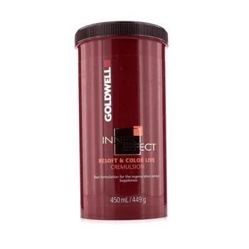 Goldwell Inner Effect Resoft and Color Live, Cremulsion, 15 Ounce
