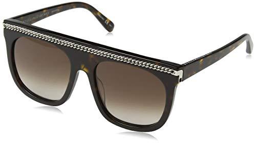 Stella McCartney SC0043S 002 Gafas de Sol, Marrón (002-Avana ...