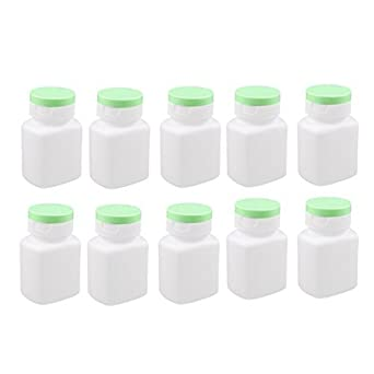 DealMux 10pcs 90ml vazios Medicina garrafas de plástico cápsula do comprimido Produtos de saúde Garrafas