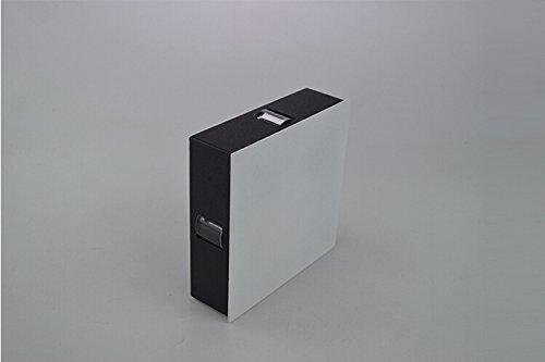 LUMINTURS 2W Square LED Wall Sconce Light Fixture Modern Decor Surface Mo.
