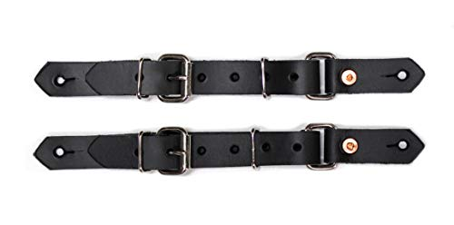 M-Royal Bull Riding Leather Spur Straps Bull Rider USA