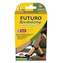ac7af13d2 Amazon.com   FUTURO Revitalizing Ultra Sheer Knee Highs for Women ...