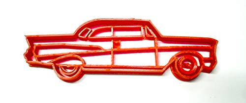 CHEVY CHEVROLET BEL AIR STYLE COUPE 1957 VINTAGE VEHICLE SPECIAL OCCASION COOKIE CUTTER BAKING TOOL 3D PRINTED MADE IN USA PR2107 - Cutters Vintage Cookie