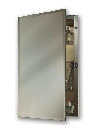 NuTone 1448 Galena Specialty Medicine Cabinet with Single-Door and Recessed  Mount, 14 by
