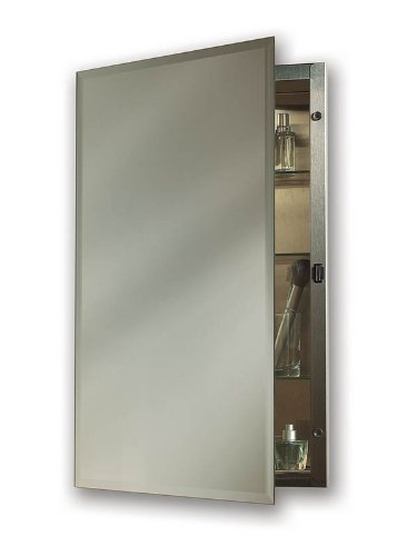 NuTone 1448 Galena Specialty Medicine Cabinet With Single Door And Recessed  Mount, 14 By