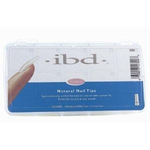 (IBD Natural Nail Tips, 100 Count)