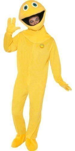 George Rainbow Costume (Fancy Me Men's Bungle George Rainbow Onesie Suit Stag Do Fancy Costume Zippy One Size Zippy)