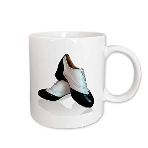 3dRose mug 1276_ 2' claqué'taza de cerámica, 425.2gram, color blanco