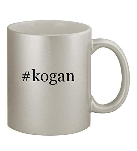Price comparison product image #kogan - 11oz Hashtag Silver Sturdy Ceramic Coffee Cup Mug