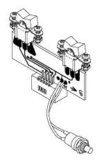 Switch Assembly (Rockers LT) for A-dec ADA216