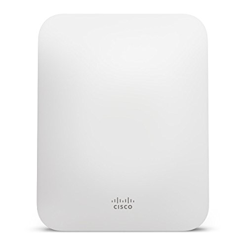 Meraki MR18 Dual-Band Cloud-Managed Wireless Network Access Point - 2x2 MIMO 802.11n, 600Mbps, Enterprise Class, 802.3af PoE, Requires Cloud License by Cisco
