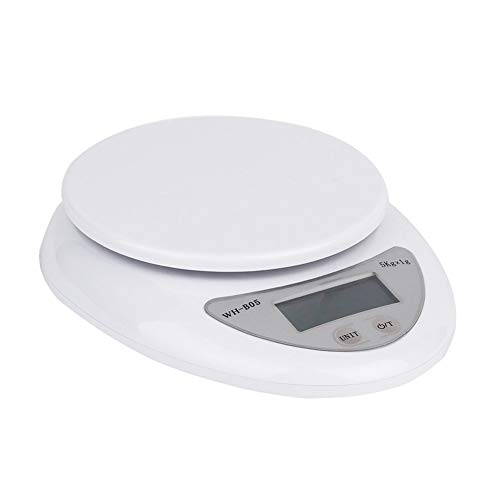 shlutesoy 5-150kg Digital Electronic Glass Bathroom Round Transparent Weighing Scale Tool