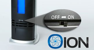 OION B-1000 Permanent Filter Ionic Air Purifier Pro Ionizer with UV-C Sanitizer, New