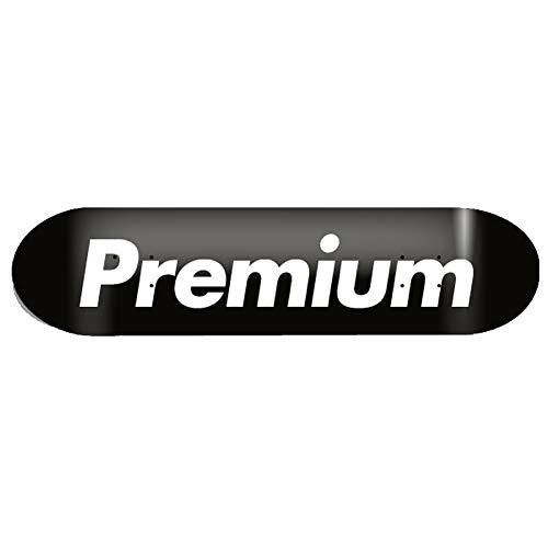 プレミアム スケートボード TEAM (PREMIUM) 8.25 PREMIUM TEAM DECK BLACK BLACK 8.25 B07K7MB8G1, 花のアリマツ:165f05d4 --- grupocmq.com
