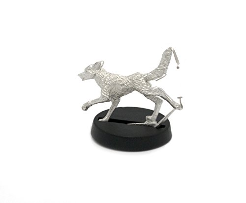 Stonehaven Stray Dog Miniature Figure (for 28mm Scale Table Top War Games) - Made in USA