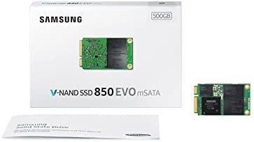 Samsung 850 EVO - Disco Duro sólido (Mini-SATA, 256-bit AES ...