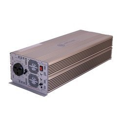 AIMS Power PWRIG700024048 Industrial Grade 48Vdc to 240Vac Power Inverter, 7000W max continuous power, 14000W surge peak power, Modified sine wave, Power switch LED is also a self test light - Green, Overload fail LED - Red by AIMS Power