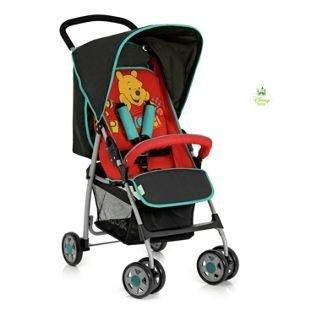 Winnie the Pooh de Disney Baby deporte cochecito carrito de bebé - negro: Amazon.es: Bebé