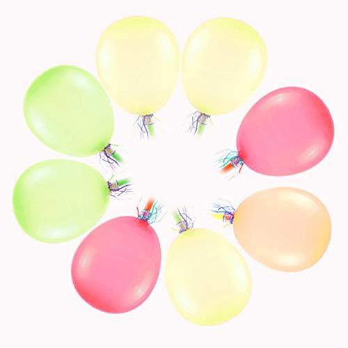 LBgrandspec 50Pcs Colorful Balloon Whistle with Blower Kids