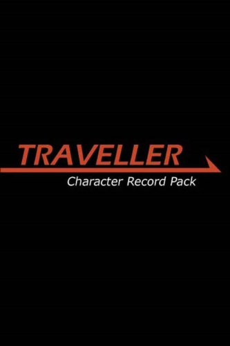 Traveller Character Record Pack