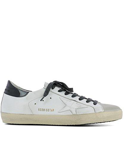 Golden Goose Sneakers Uomo G31MS590C66 Pelle Bianco