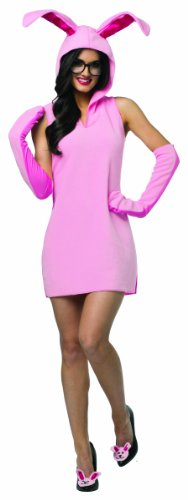 Rasta Imposta Women's Christmas Story Bunny Dress, Pink, One Size]()
