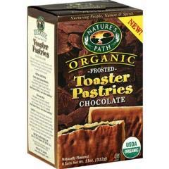 Nature's Path - Frosted Chocolate Toaster Pastry (12-11 oz boxes) - Frosted and Laced with the Tart-Sweet Flavor of Cherry